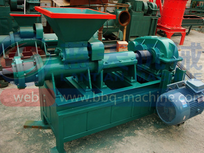 charcoal extruding equipment