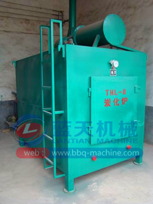 Charcoal Carbonization Furnace